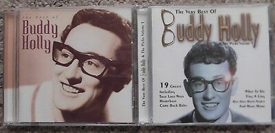 Buddy Holly - 2 CDs - The Best of Buddy Holly + The Very Best of Buddy Holly