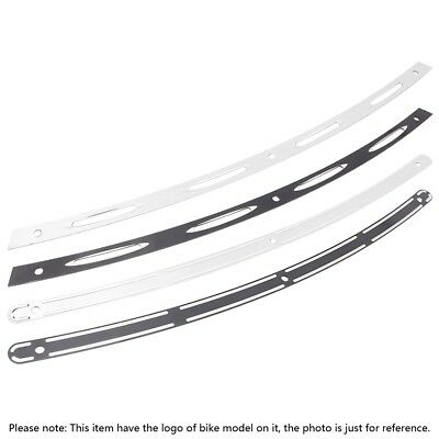 Black Chrome Motorcycle Windshield Trim For Harley FLHT FLHX FLHTC 1996-2013