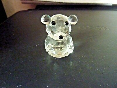 Glass Mouse Or Is It A Teddy?  - Perfect Condition - Pre-Owned