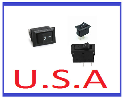 12V Power Switch/16A/2 Pin/Car/Auto/Boat/Rocker/Toggle/ON/OFF/B-109
