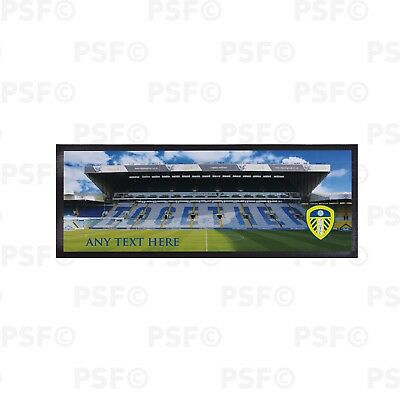 Leeds United FC Official Personalised Together Stadium Colour Bar Runner LBR005