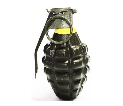 REPLICA Vintage MK2 PINEAPPLE Grenade  WITH SPRING KITS Rings, and Pins