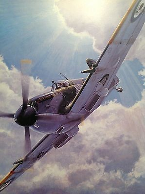Don Connolly - Unpassioned Beauty - Spitfire SIGNED