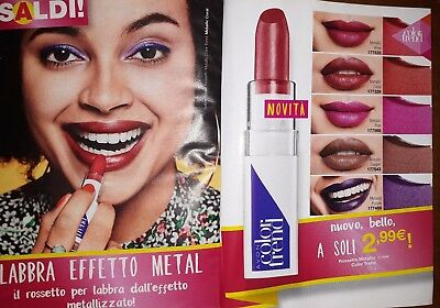 Avon color trend rossetto metallic METALLIC PINK