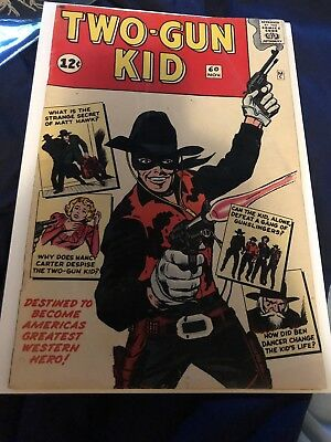 two Gun Kid 60 Silver Age Marvel Key 5.5 Fn NO RESERVE