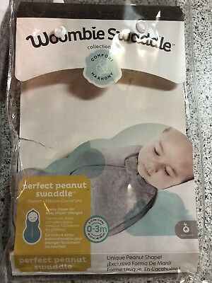 Woombie swaddle 0-3 Months White