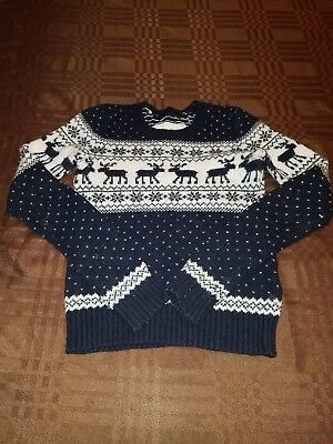 Abercrombie Kids Small Christmas Sweater Unisex