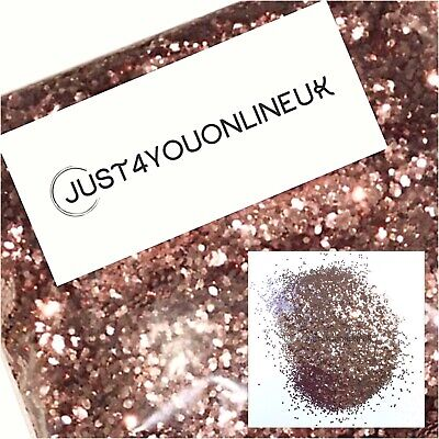 Glitter 100g Chunky Rose Gold Nail Art Craft Wine Glass Art Premium Wall Paint
