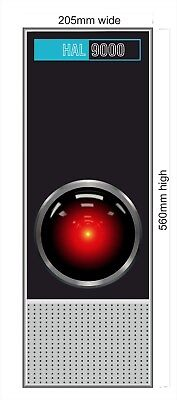 2001 Space Odyssey - HAL 9000 - Large  Sticker 560mm X 205mm Skin decal - 154