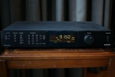 Audiolab 8000T 'A' series near mint condition FM/AM Tuner with manual.