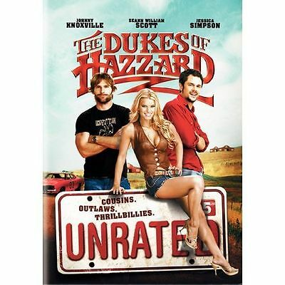 The Dukes of Hazzard (DVD, 2005, Unrated, Full Screen Edition)