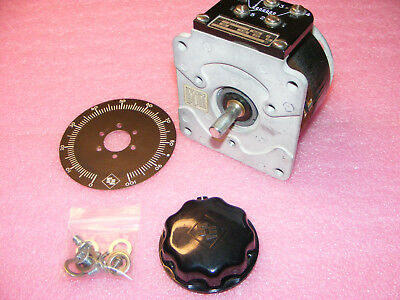 Superior Electric Powerstat Variable Autotransformer Type 21 Knob,  Dail Plate
