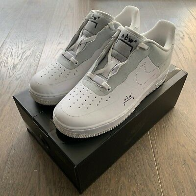 best authentic 6cb54 a2ed3 NIKE AIR FORCE 1 Low ACW White (A Cold Wall) BQ6924-100 UK 7 ...