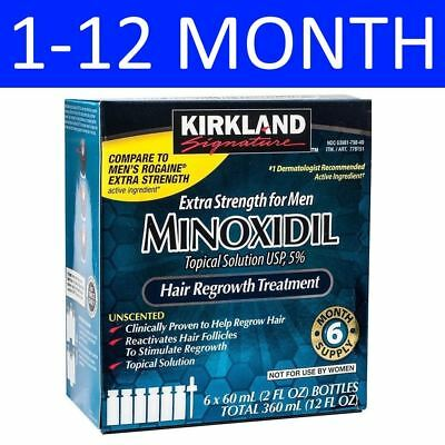 Kirkland Minoxidil Solution 5% - 1 To 12 Month Supply - Expiry May 2020
