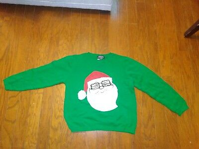Santa Claus Christmas Long Sleeve Sweater