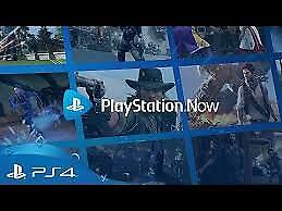 Playstation Now 7 days free trial For PC and Playstation 4