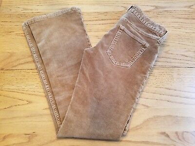 Abercrombie Size 16 Brown Corduroy Low Rise Boot Cut Jeans