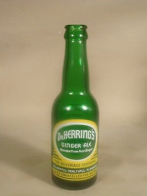 Gaffney, S.C.  Dr. Herring's Ginger Ale Bottle, South Carolina Soda, SC, Coke