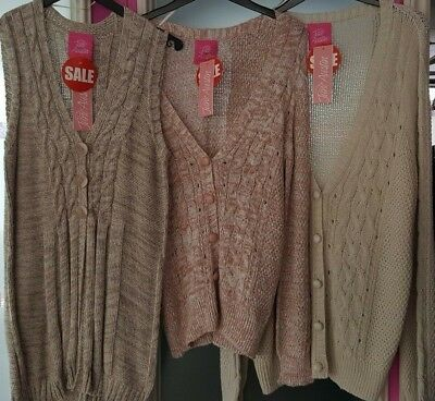 Job Lot Wholesale Brand New Womens JUmpers Cardigans Jane Austin x 10   L24