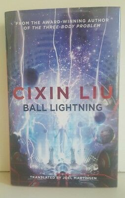 Cixin Liu - Ball Lightning - Signed & Numbered Limited Edition HB  - 14/250 -