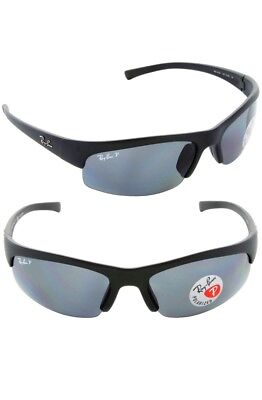 07eb2301f8 RAY-BAN SPORT SUNGLASSES  RB 4039  Black frames polarised with case ...