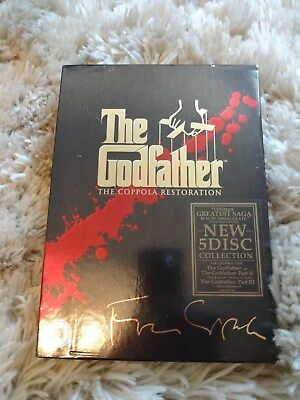The godfather the coppola restoration 5 dvd collection