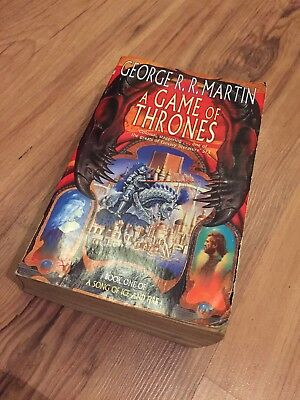 A Game Of Thrones Book 1, Published 1998
