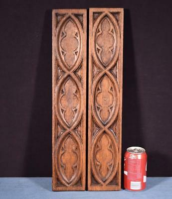 *Gothic Carved Architectural Panels/Trim in Solid Oak Salvage