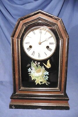 Antique Early Junghans Black Forest 30 hours clock XIXc working