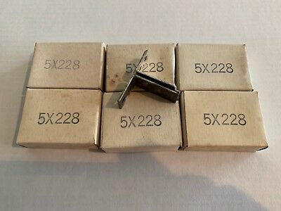 Lot Of 6 New! Gould Overload Relay Thermal Heater Elements T61 5X228