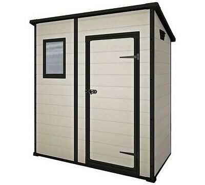 KETER OUTDOOR PLASTIC Garden Storage Shed 6ft by 4ft Argos Still in box
