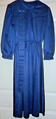 """Amish Mennonite Girl's Handmade Plain and Simple Dress Modest 32"""" Bust / to 32"""""""