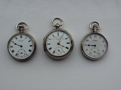 Silver Pocket Watch Collection