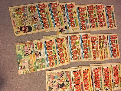 DANDY and BEANO comics  Collection From 1993, 1994 and 1995