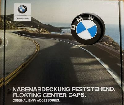 Genuine BMW Bmw Floating Center Caps 36-12-2-455-268