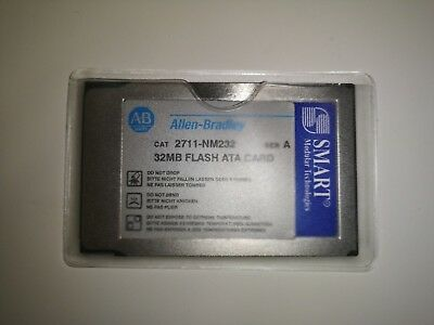 NEW, NEVER USED Allen Bradley 2711-NM232 SER A 32MB FLASH ATA CARD