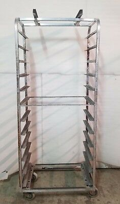 Set of Two Rotating Bakery Rack Slide Side Sheet Pan