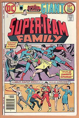 SUPER-TEAM FAMILY lot 6 7 8 10 Superman Teen Titans Challengers Unknown DC Giant