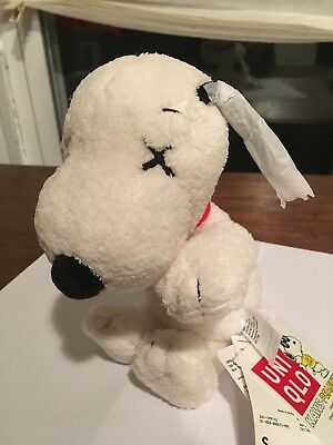 KAWS x PEANUTS Plush Toy Small Uniqlo Limited Edition Companion Snoopy With Tags