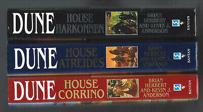 DUNE lot 11FEHBDJs Brian Herbert Kevin Anderson HUNTERS PAUL WINDS JIHAD CORRINO
