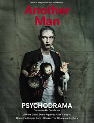 Another Man Magazine #28 SS 2018 Paolo Roversi Comme des Garcons Vincent Gallo