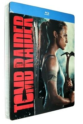 Tomb Raider 2018 Steelbook (Blu-Ray) New Sealed