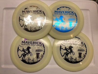 Innova Shryke Glow Champion *choice* 175 167 gm horse cowboy stamp Maverick DG