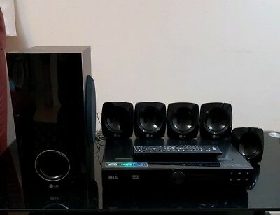Lg Ht306Sf Home Cinema System 5.1 Ch Dvd Home Theatre