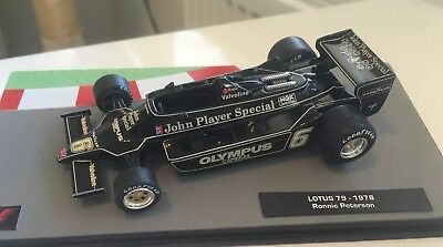 F1 Car Collection Tobacco Upgraded JPS Ronnie Peterson Lotus 79 Cosworth Superb