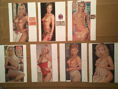 Page 3 Girl Clippings / Nudes Sun, Daily Star Newspaper - Charlie O'Neale