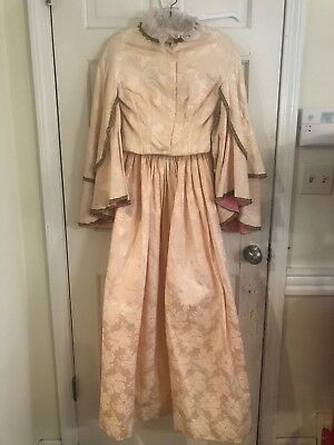 Beautiful Reproduction 18th Century Dress  From The Ed Vebell Estate