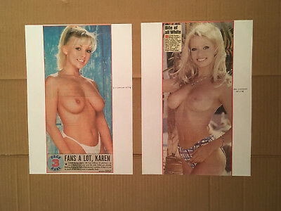 Page 3 Girl Clippings / Nudes Daily Star, Sun Newspaper - Karen White