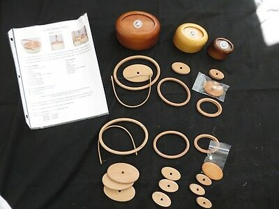 Nesting Nantucket Molds, Rims, and Bases Doc Magee Set of 3 for Basket Weaving