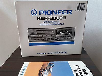 Pioneer Keh-9080B Auto-Reverse Cassette Car Stereo And Tuner Vintage